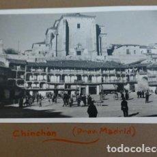 Fotografía antigua: CHINCHON MADRID FOTOGRAFIA POR EMBAJARDOR BRITANICO EN ESPAÑA JOHN BALFOUR 1951. Lote 155822750