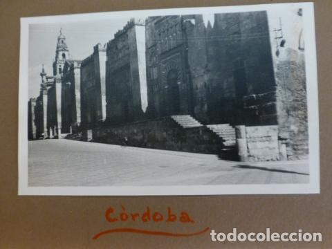 CORDOBA FOTOGRAFIA POR EMBAJADOR BRITANICO EN ESPAÑA JOHN BALFOUR 1951 (Fotografía Antigua - Gelatinobromuro)