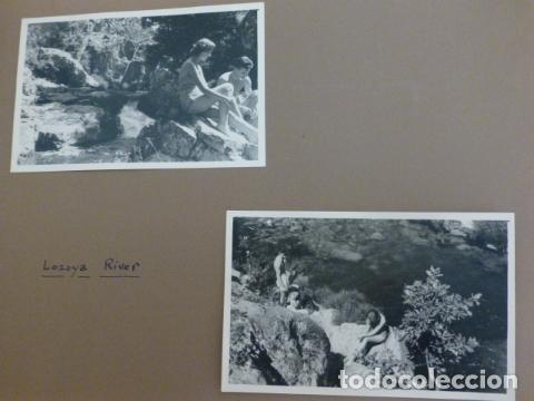 RIO LOZOYA MADRID 2 FOTOGRAFIAS POR EMBAJADOR BRITANICO EN ESPAÑA JOHN BALFOUR 1951 (Fotografía Antigua - Gelatinobromuro)