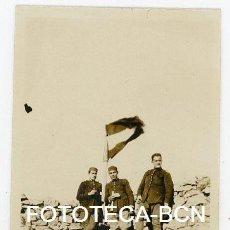 Fotografía antigua: FOTO ORIGINAL SOLDADOS DE REEMPLAZO CATALANES POSIBLEMENTE PROTECTORADO ESPAÑOL MARRUECOS AÑO 1922. Lote 156839738