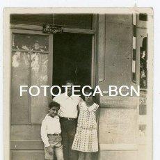 Fotografía antigua: FOTO ORIGINAL COMERCIO SUCESORES V VALLS CORTES PRODUCTOS FOTOGRAFIA BARCELONA C VILLARROEL AÑOS 20. Lote 156948318