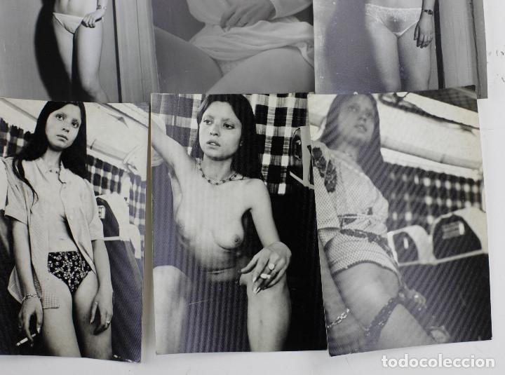 Fotografía antigua: EROTISMO, LOTE DE 85 FOTOGRAFÍAS 1970'S. VER FOTO ANEXAS, TAMAÑO DE CADA FOTO 8X11,5CM. - Foto 3 - 156950158