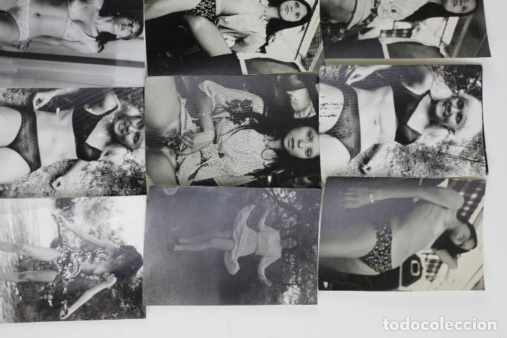 Fotografía antigua: EROTISMO, LOTE DE 85 FOTOGRAFÍAS 1970'S. VER FOTO ANEXAS, TAMAÑO DE CADA FOTO 8X11,5CM. - Foto 4 - 156950158