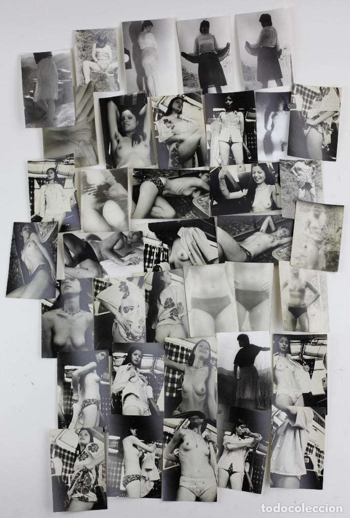 Fotografía antigua: EROTISMO, LOTE DE 85 FOTOGRAFÍAS 1970'S. VER FOTO ANEXAS, TAMAÑO DE CADA FOTO 8X11,5CM. - Foto 8 - 156950158