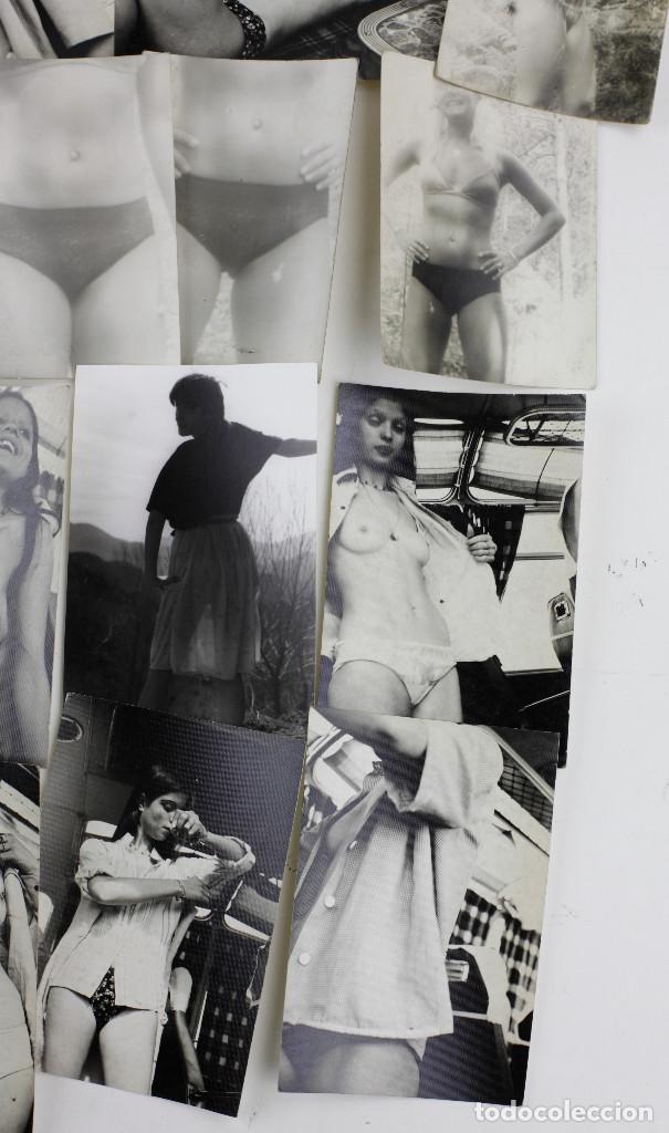 Fotografía antigua: EROTISMO, LOTE DE 85 FOTOGRAFÍAS 1970'S. VER FOTO ANEXAS, TAMAÑO DE CADA FOTO 8X11,5CM. - Foto 10 - 156950158