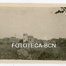 Fotografía antigua: FOTO ORIGINAL BANYOLES BAÑOLAS PLA DE L'ESTANY GIRONA AÑO 1924. Lote 158116478