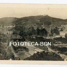 Fotografía antigua: FOTO ORIGINAL BARCELONA DESAPARECIDA BARRIO SANT GERVASI COLEGIO JESUS-MARIA TRANVIA AÑOS 10/20. Lote 158118754