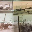 Fotografía antigua: LOTE DE 7 FOTOGRAFIAS COSTA BRAVA AÑOS 20 PUERTO MERCADO CERAMICA VIDA CUOTIDIANA GELATINOBROMURO. Lote 158447402