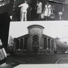 Fotografía antigua: TERRASSA - MERCADO DE LA INDEPENDENCIA . 40 FOTOGRAFÍAS AÑO 1982. JOSEP VERA ARÚS.. Lote 159208786