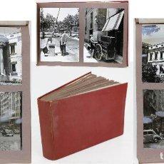 Fotografía antigua: MADRID - 1950-1960. ÁLBUM 22X32 CM. CON 136 EXTRAORDINARIAS FOTOGRAFÍAS 13X18CM. DE TODA LA CIUDAD. Lote 160192106