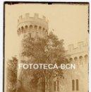Fotografía antigua: FOTO ORIGINAL CASTILLO DE SON VIDA AÑOS 20 MALLORCA BALEARES. Lote 161206734