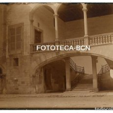 Fotografia antica: FOTO ORIGINAL CAN BERGA PATIO PALMA DE MALLORCA AÑOS 20 BALEARES. Lote 161257010