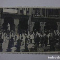 Fotografía antigua: AVILES PROCESION AÑOS 50. Lote 161417058