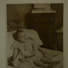 Fotografía antigua: POST MORTEM PRINCIOS 40 ASTURIAS. Lote 161791278
