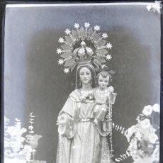 Photographie ancienne: ALBATERA NEGATIVO DE CRISTAL. Lote 162109666