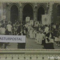 Fotografía antigua: PROCESION EN AVILES ASTURIAS. Lote 162176142
