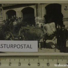 Fotografía antigua: EL BOLLU AÑOS 40 EN AVILES , ASTURIAS . Lote 162181354