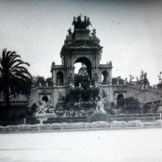 Fotografía antigua: PLACA GELATINO BROMURO ANO 1900 BARCELONA. Lote 162357448