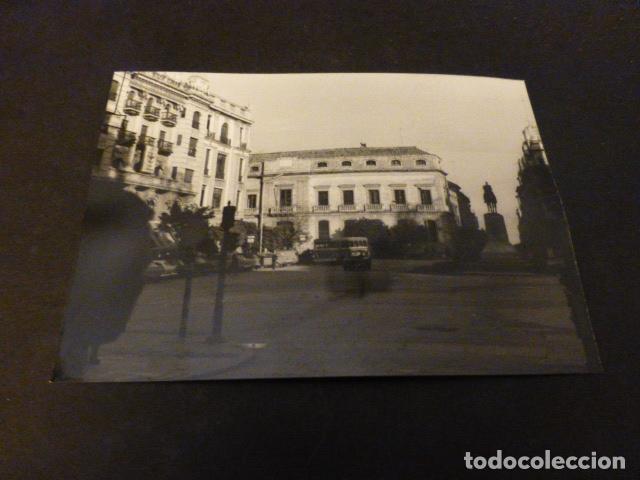 CADIZ PLAZA ANTIGUA FOTOGRAFÍA 7,5 X 10,5 CMTS (Fotografía Antigua - Gelatinobromuro)