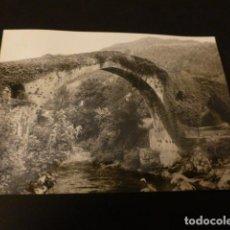 Fotografía antigua: CANGAS DE ONIS ASTURIAS ANTIGUA FOTOGRAFÍA 7,5 X 10,5 CMTS. Lote 163887506