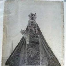 Fotografía antigua: PLACA FOTOGRÁFICA NEGATIVO VIDRIO: ¿VIRGEN DE LOS REMEDIOS (SOTÉS, LA RIOJA)? - CRISTAL 13 X 18 CM. Lote 165099398