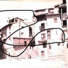 Fotografía antigua: ALBARRACIN 1952 LOTE DE 6 NEGATIVOS CELULOIDE. Lote 165257782