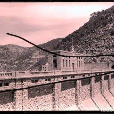 Fotografía antigua: BENAGEBER PANTANO 1952 LOTE DE 9 NEGATIVOS CELULOIDE. Lote 165258042