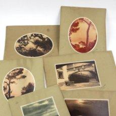 Fotografía antigua: MALLORCA, 1920S. 6 FOTOGRAFÍAS DE ERNESTO GUARDIA. 18X24CM. SOPORTE 28X41CM.. Lote 165438630