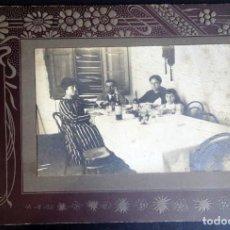 Fotografía antigua: ANTIGUA FOTOGRAFÍA DE UNA FAMILIA, PRINCIPIOS SIGLO XX, VER FOTOS. Lote 165446990