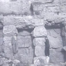 Fotografía antigua: SAGUNTO LOTE 6 NEGATIVOS CELULOIDE 28 ABRIL 1943. Lote 166272858
