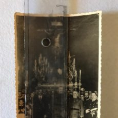 Fotografía antigua: SEMANA SANTA SEVILLA. CRISTO DEL AMOR. XXV ANIVERSARIO ENTRADA EN EL SALVADOR. AÑO 1947.. Lote 166436274