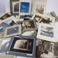 Fotografía antigua: CATALUÑA, PUEBLOS Y MONTAÑISMO, AÑOS 1920-45. CLUB ALPÍ CATALÀ, LOTE DE 54 FOTOGRAFÍAS PARA CONCURSO. Lote 166835910