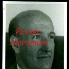 Fotografía antigua: VICENTE ALEIXANDRE - POETA - GENERACIÓN DEL 27 . Lote 167863472