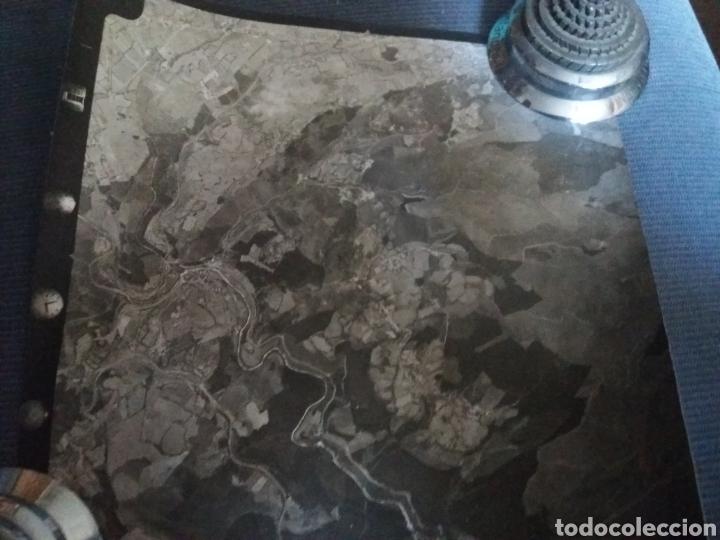 Fotografía antigua: vizcaya bilbao 36 fotos aereas verticales cartografia c1965 aeropuerto sondika deusto baracaldo 24cm - Foto 4 - 168557152