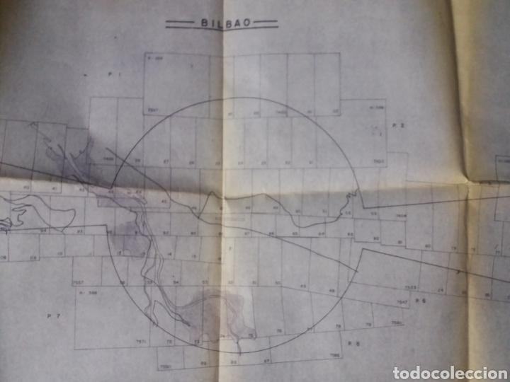 Fotografía antigua: vizcaya bilbao 36 fotos aereas verticales cartografia c1965 aeropuerto sondika deusto baracaldo 24cm - Foto 8 - 168557152