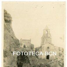 Fotografía antigua: FOTO ORIGNAL IGLESIA SANTA MARIA DE CERVELLÓ AÑOS 30/40. Lote 169072452