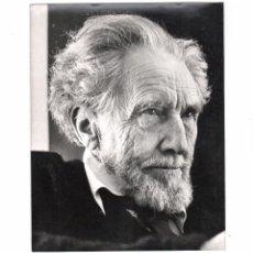 Fotografía antigua: EZRA POUND (1885-1972) POETA, MÚSICO Y CRÍTICO. 20,5X26 CM. DATOS REVERSOS.. Lote 169496736