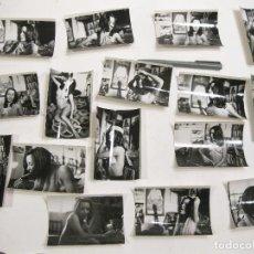 Fotografía antigua: LOTE DE 16 FOTOGRAFÍAS DE DESNUDOS HIPPIES. AÑOS 60. SICODELIA.. Lote 169599492