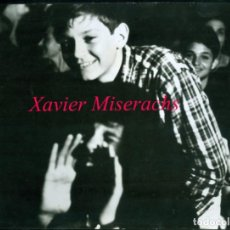 Fotografía antigua: XAVIER MISERACHS - 1965 - SELLO DEL FOTÓGRAFO . Lote 169714764