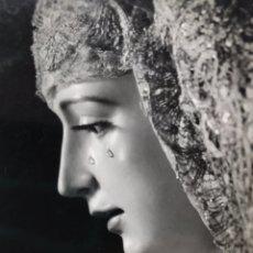 Fotografía antigua: SEMANA SANTA SEVILLA. VIRGEN DE LORETO, HDAD. DE SAN ISIDORO. SELLO: HARETON Y HERMANDAD.. Lote 169777070