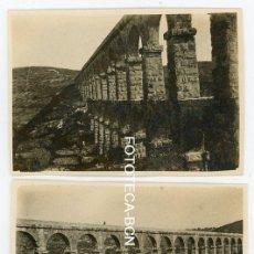 Fotografía antigua: 2 FOTOS ORIGINALES ACUEDUCTO DE LES FERRERES TARRAGONA AÑOS 20/30. Lote 169880384