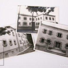Fotografía antigua: 3 FOTOGRAFÍAS DEL ANTIGUO AMBULATORIO DE TRUJILLO, CÁCERES - INSTITUTO NACIONAL DE... - AÑOS 40-50. Lote 170934420