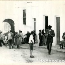 Fotografia antica: FIÑANA (ALMERIA). ESCENA CALLEJERA. FOTOGRAFIA TOMADA POR VIAJERO FRANCÉS EN 1954.. Lote 171354029