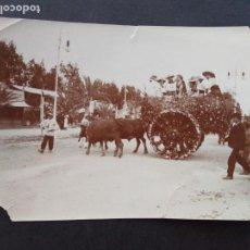Fotografía antigua: MURCIA FIESTAS BANDO DE LA HUERTA FOTOGRAFIA HACIA 1900 8 X 11 CMTS. Lote 171773648