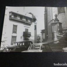 Fotografia antica: LAS PALMAS DE GRAN CANARIA CASA DE COLON FOTOGRAFIA 7,5 X 10,5 CMTS. Lote 171902900