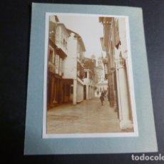 Fotografía antigua: PONTEVEDRA ASPECTO URBANO 1929 FOTOGRAFIA POR ROBERT GILLON PRESIDENTE SENADO BELGICA. Lote 172070322