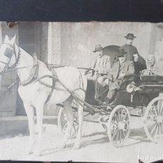 Fotografía antigua: TETUAN MARRUECOS ESPAÑOL CARRUAJE ANTIGUA FOTOGRAFIA 13 X 18 CMTS. Lote 254436775