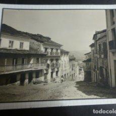 Fotografía antigua: VEGADEO ASTURIAS 1929 FOTOGRAFIA POR ROBERT GILLON PRESIDENTE SENADO BELGICA. Lote 173025689