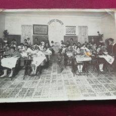 Fotografía antigua: CURSO SINGER. FOTÓGRAFO B. LEÓN, PUERTO DE SAGUNTO. Lote 173575690