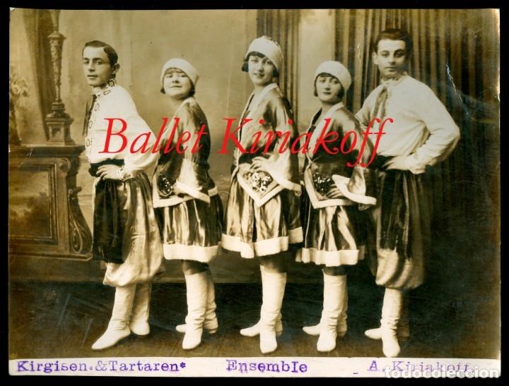 RUSIA - BALLET A. KIRIAKOFF - 1920'S (Fotografía Antigua - Gelatinobromuro)